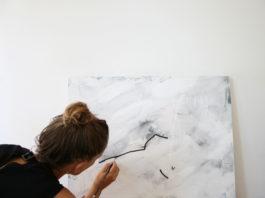 Marnie painting