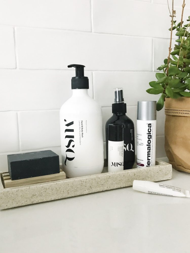 Bathroom vanity styling