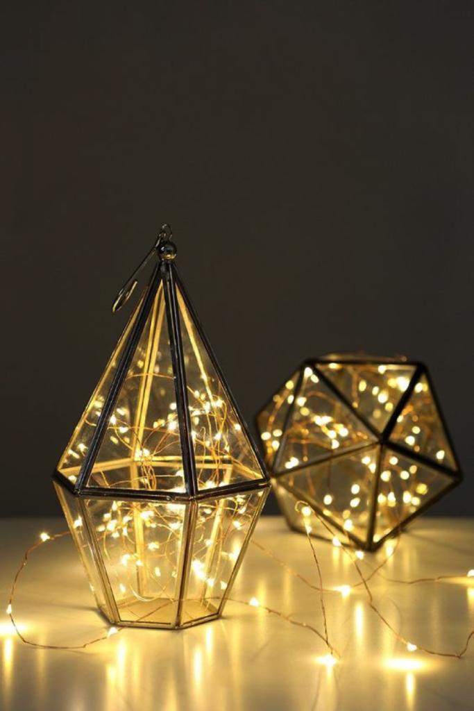Diamond fairy lights