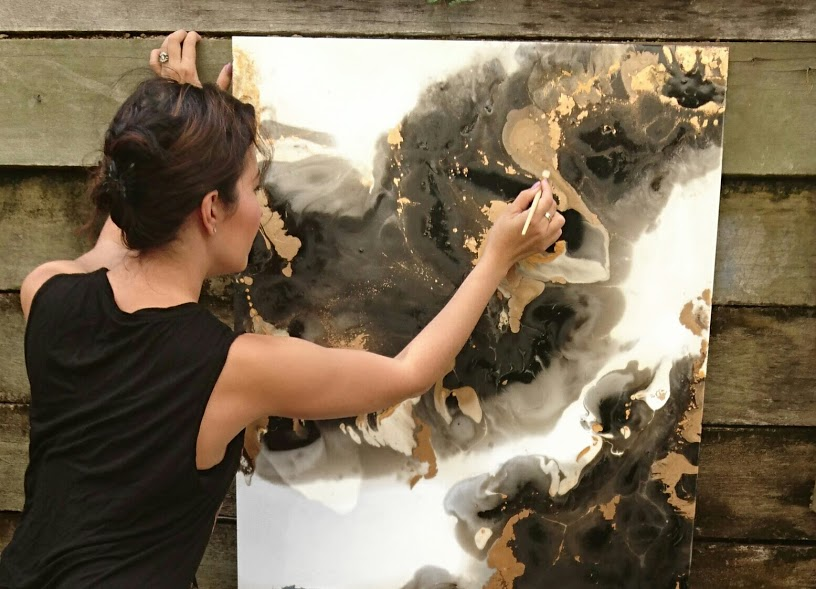 Larissa painting