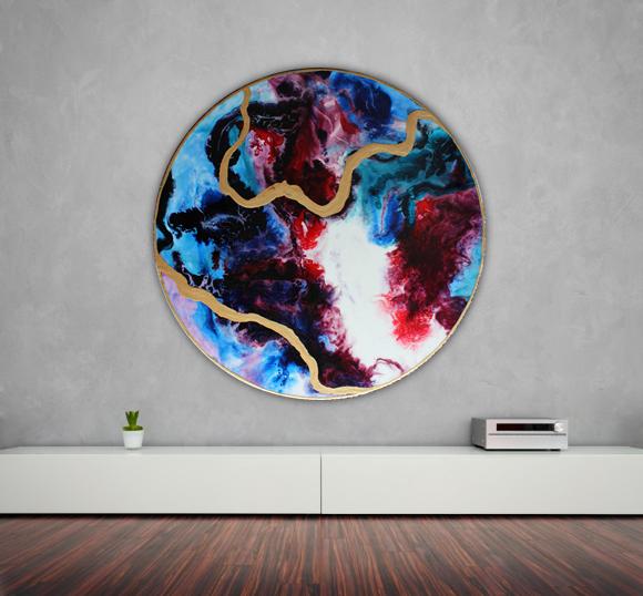Round artwork