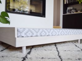 Side of bed