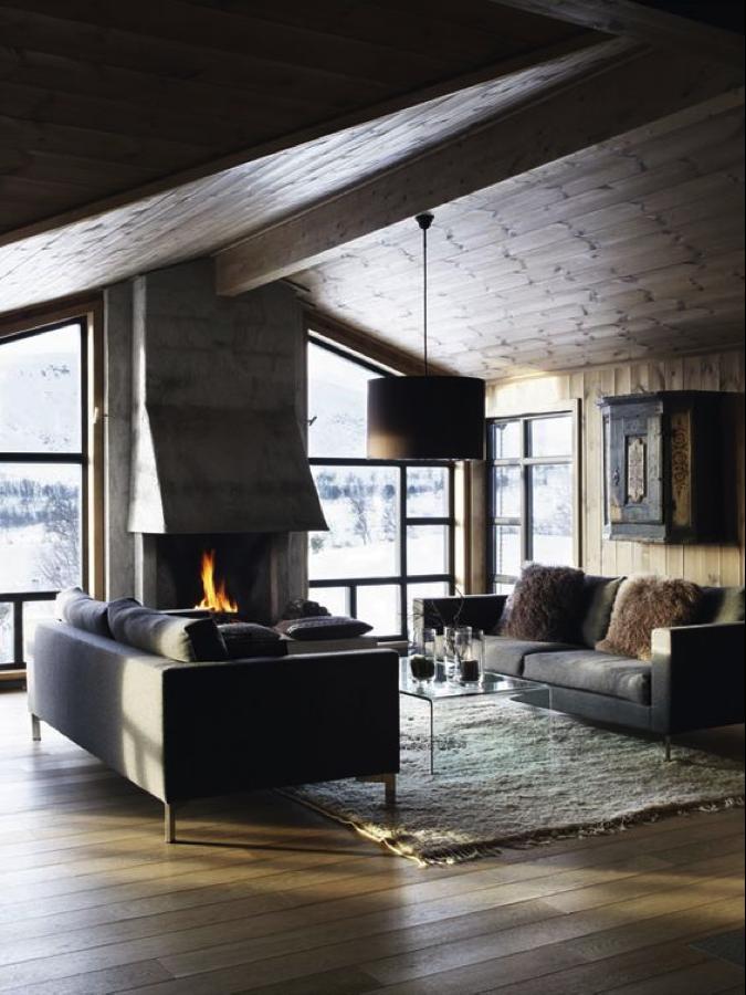 Masculine cabin