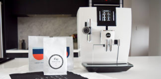 Jura J6 coffee machine