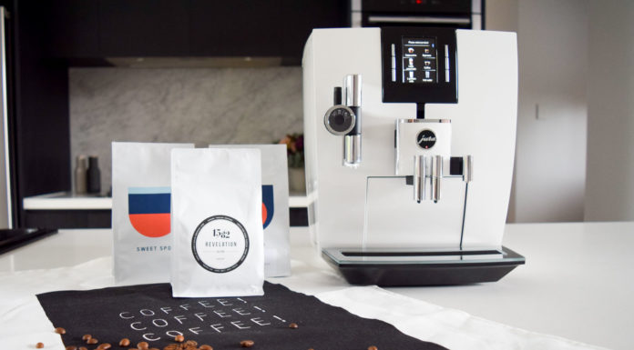 Jura J6 coffee machine