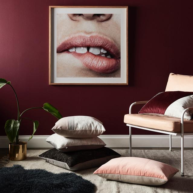 Lip wall art