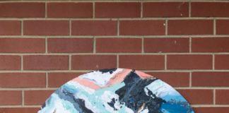 DIY outdoor wall art