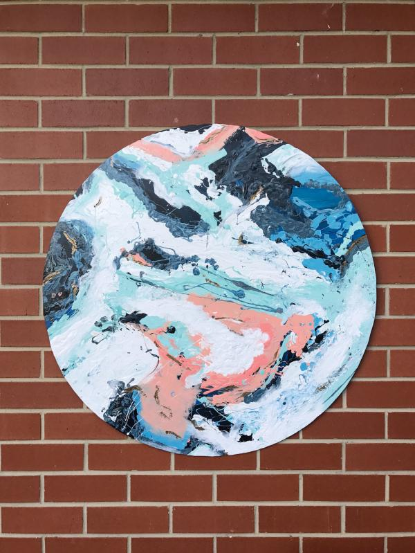 DIY outdoor wall art: Make your own abstract wall art