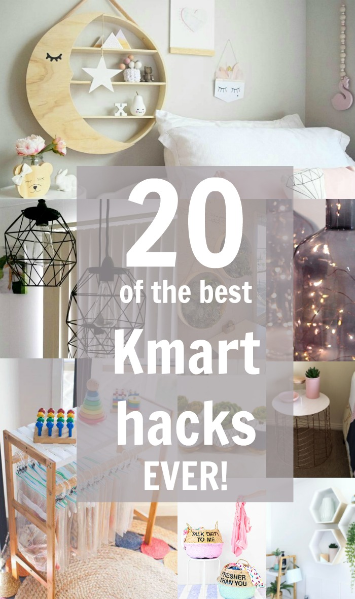 20 Of The Coolest Kmart Hacks Ever Style Curator