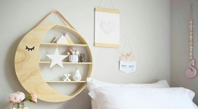 Kmart moon shelf