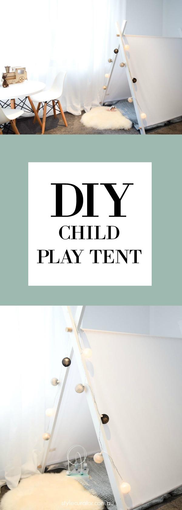 Pinterest play tent