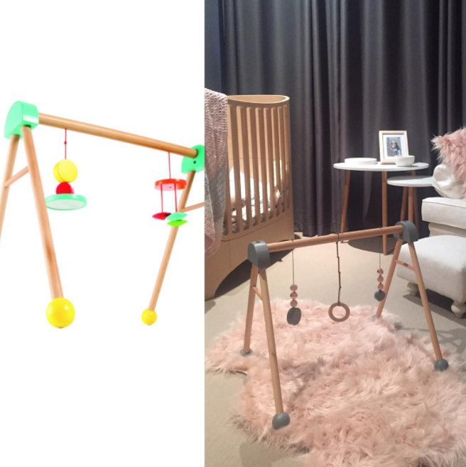 Kmart play gym before and after