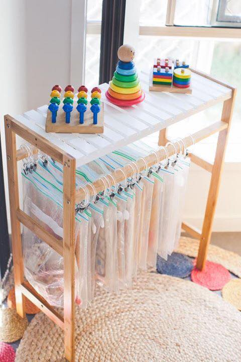 Towel Rack Style Curator