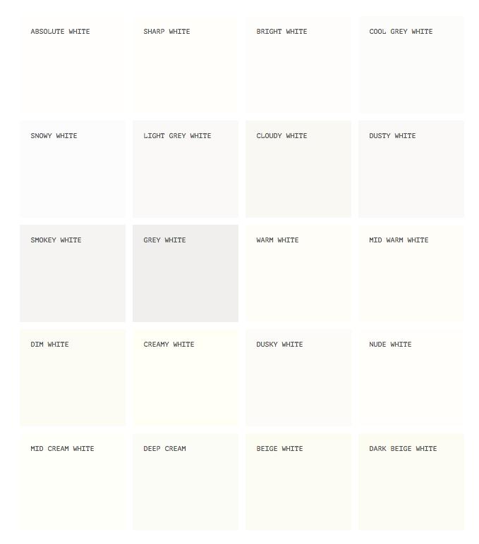White paints buy paint