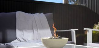 DIY decorative fire pit