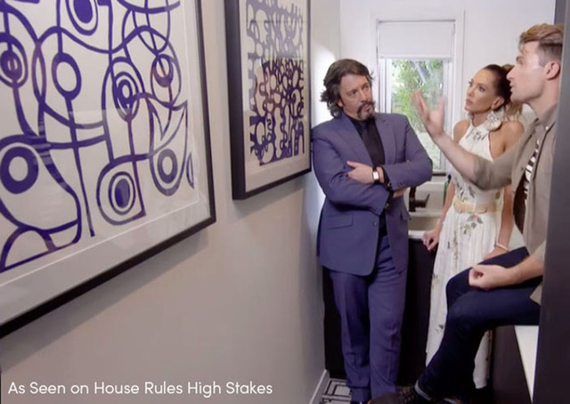 Emilio Frank Design art featured on House Rules High Stakes