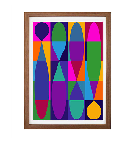 Hourglass anniversary limited edition print