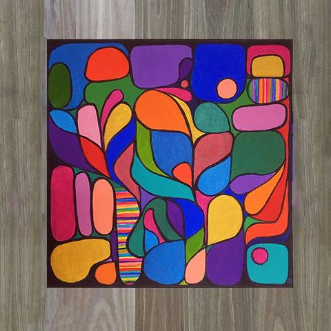 Modernist artwork by Emilio Frank Design_Shana Danon