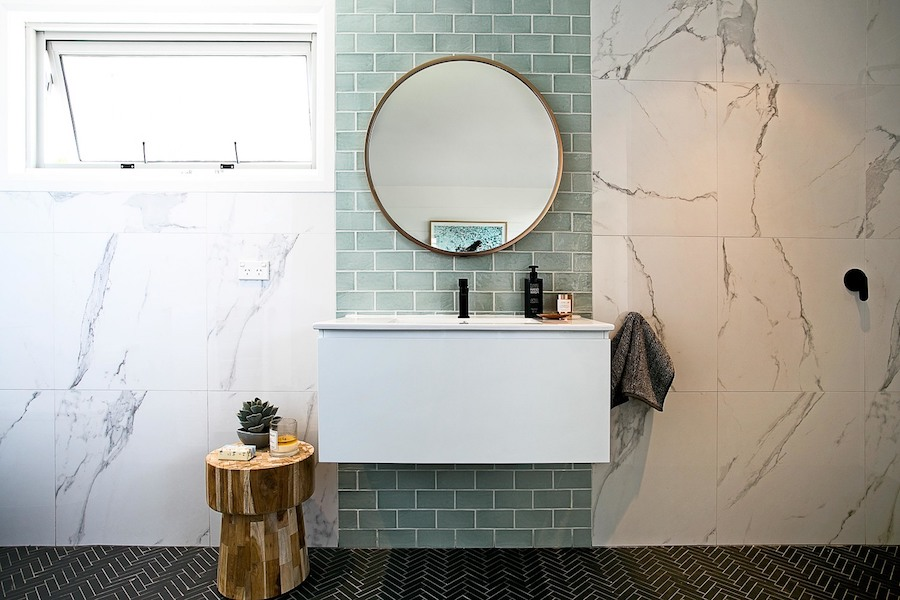round mirror in bathroom bathroom look we mirrors style curator 20236