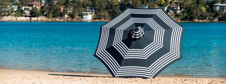 Custom print umbrella
