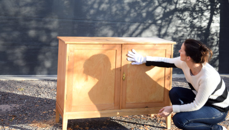 I'm upcycling a piece of furniture for Feast Watson's annual Re-Love project!