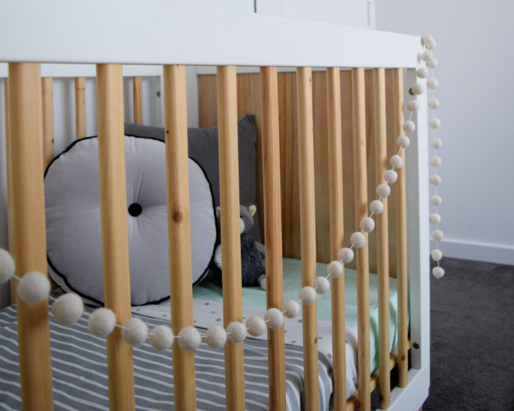 How to style your baby's cot (when they're not sleeping in it!)