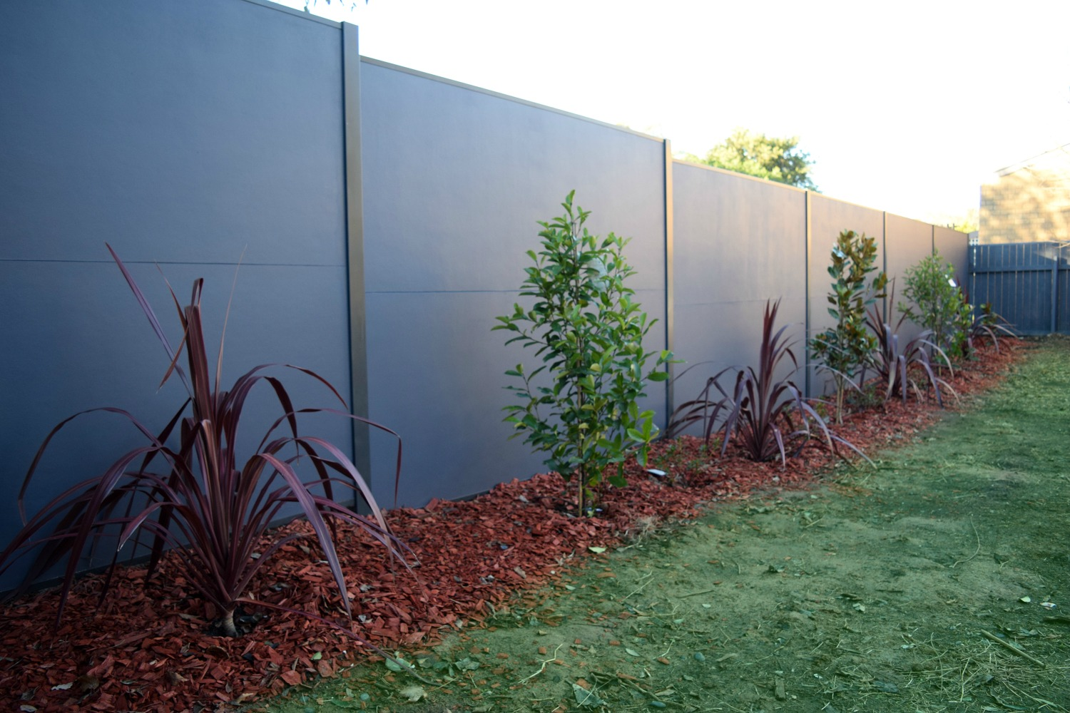 Contemporary DIY fence