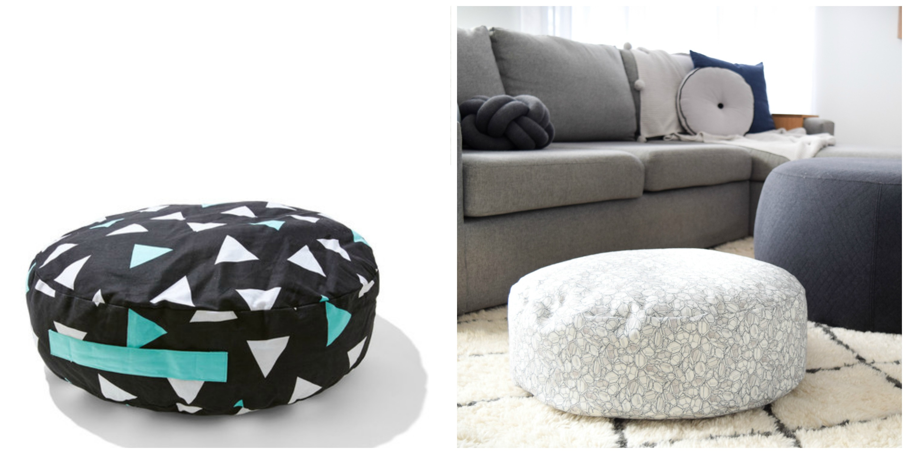 Kmart Hack Kids Cushion Turns Luxe Floor Cushion Style