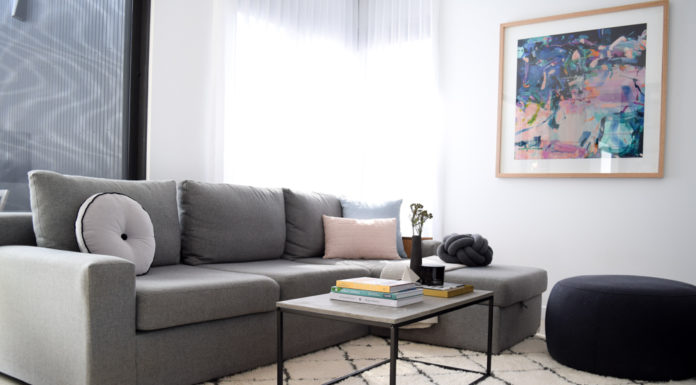 Kmart hack coffee table feature image