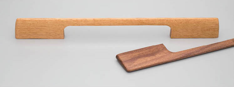 Long timber handles