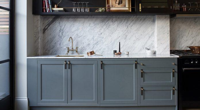 Kitchen with unusual handles