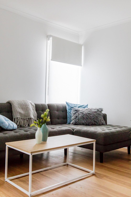Bonnie's living room now