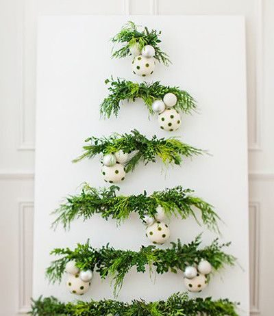 Canvas Christmas tree