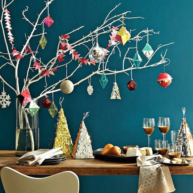 Vase Christmas tree