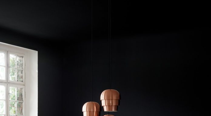 Walnut veneer dining table