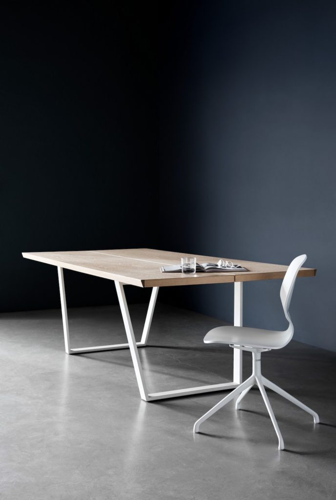 Designer industrial dining table
