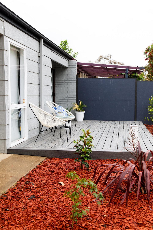 Bonnie's deck