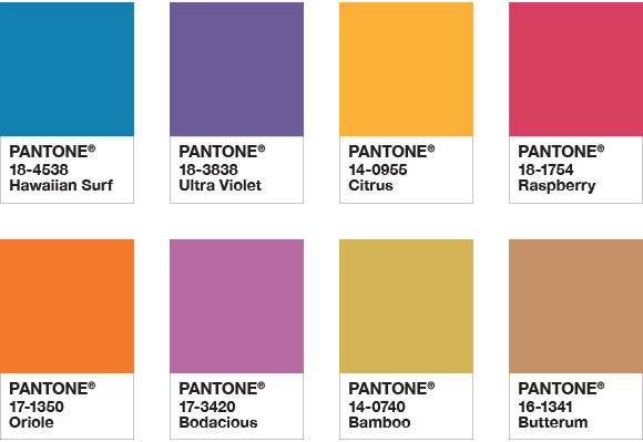 Attitude colour palette