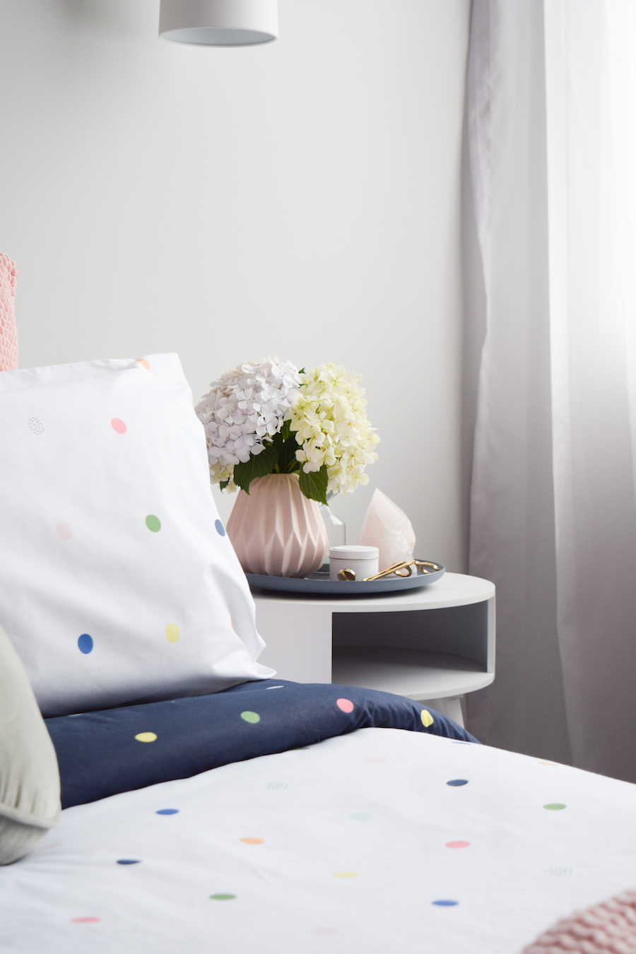Bedside arrangement get your home ready for spring