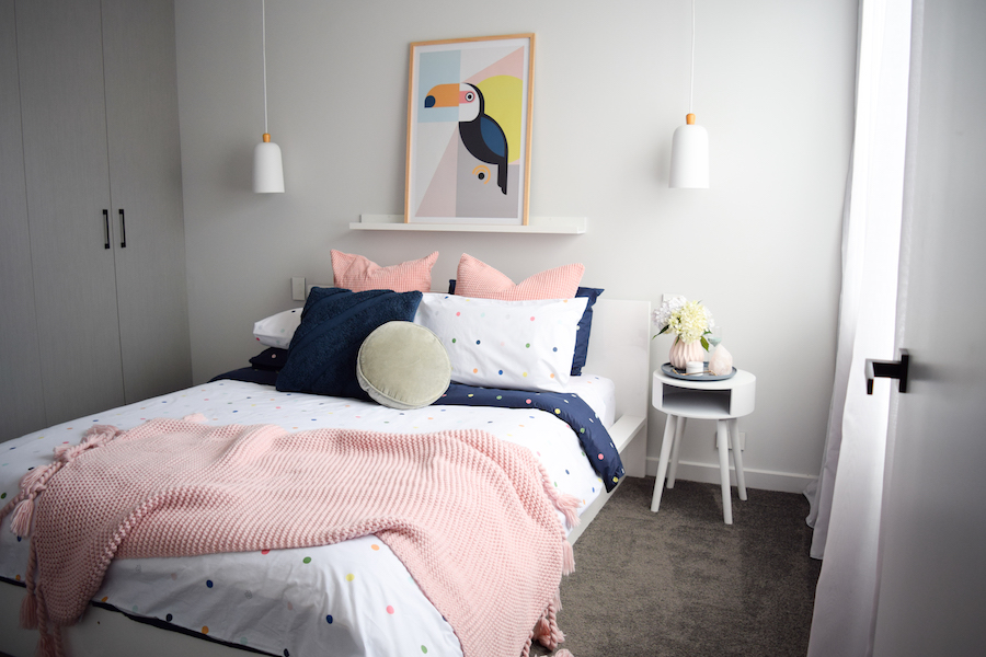 Colourful and fun bedroom