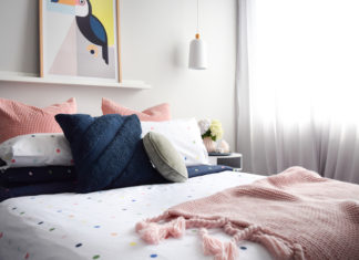 Kmart Bedroom Styling Colour