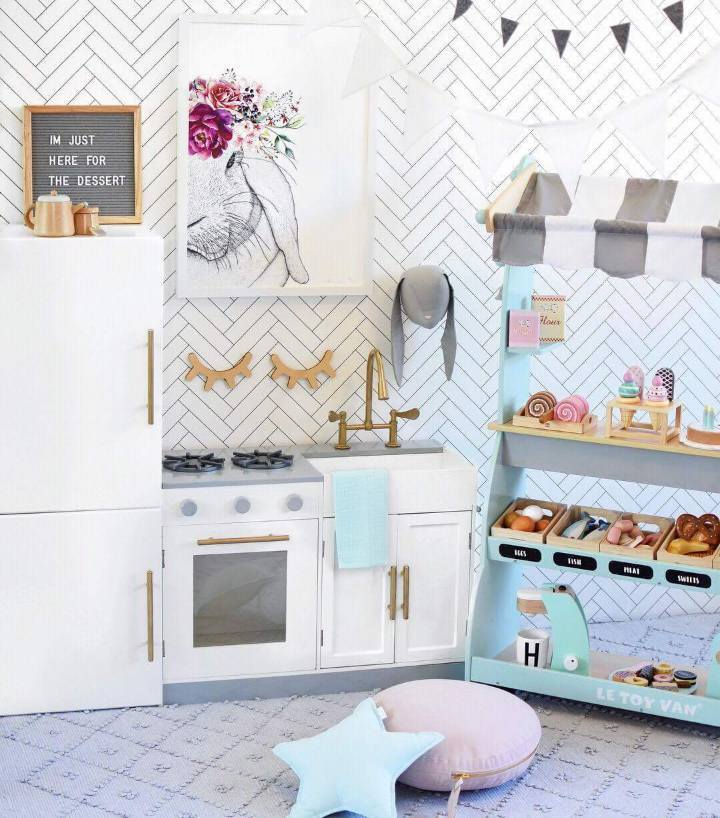 Kmart kitchen by @hudson_and_harlow