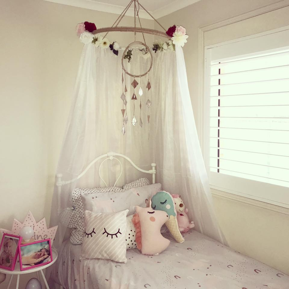 Bedroom canopy by Jemma
