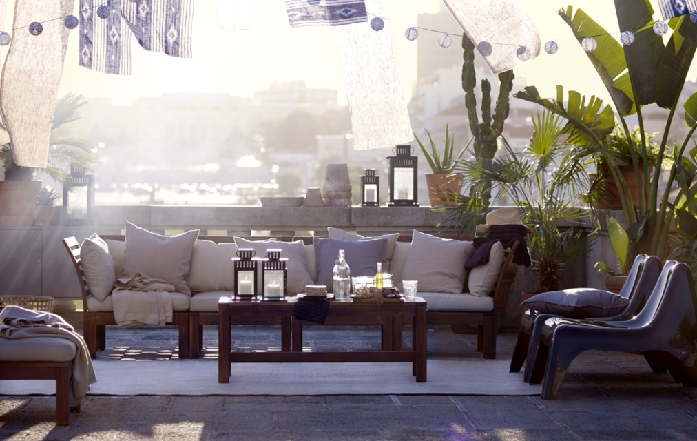 IKEA outdoor living