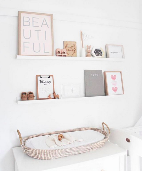 10 Of The Most Stylish Wall Shelf Options For A Nursery Or Childs