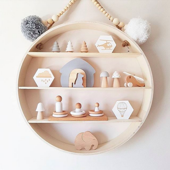 10 Of The Most Stylish Wall Shelf Options For A Nursery Or Child S Room On Any Budget My Baby