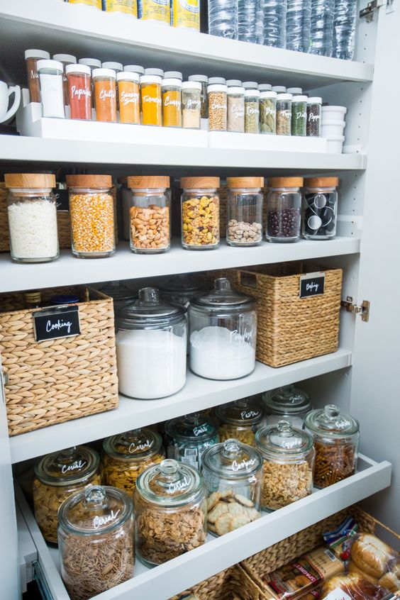 Organised pantry organise a pocket of your home