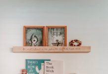 Personalised shelf by Kids Kulture
