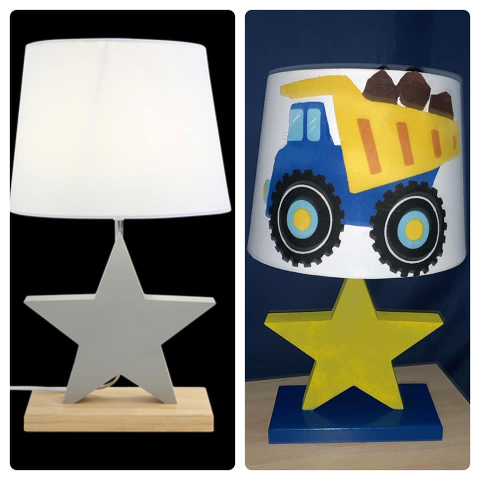 Star lamp_by Kristin