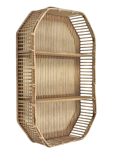 Temple and Webster Hyde Bamboo Wall Shelf